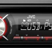 JVC kd r449 с USB