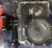 Экш-камера 4К новая , комплект