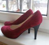 Туфли замша 38-39 размер