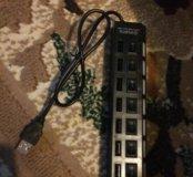 USB hub адаптер  7 портов