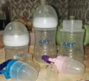 Детские бутылочки и ниблеры