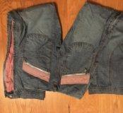 джинсы широкие