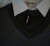Жилет и рубашка