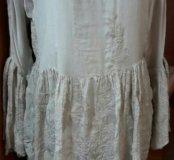 Блуза новая, вышивка