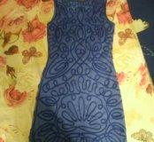 Платье Zarina синее