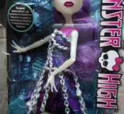 Новая кукла Monster high Spectra