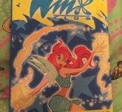 Winx книжка-комиксы +обруч для волос winx