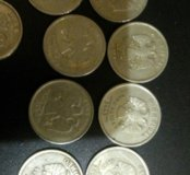 Монеты 2р,(2000,2001)(2012)