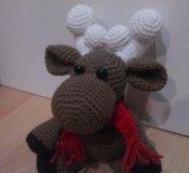 Амигуруми Лосик в шарфике в наличии