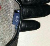 Перчатки кожаные размер 6.5