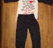 Пижама сердце новая