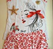 Пижама поцелуй новая