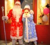 Весёлое поздравление от Деда Мороза и Снегурочки