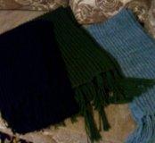 шарф шерстяной
