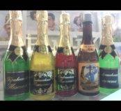 Гель для душа шампанское