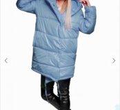 Новое теплое стеганое пальто