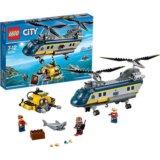 LEGO 60093 Вертолет исследователей моря.