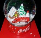 Снежный шар кока кола