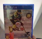 NHL 15  (PS4,абсолютно новая)