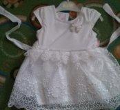 Красивое новогоднее платье