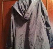 Куртка ветровка большого размера 58