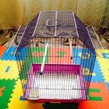 Клетка для попугая .