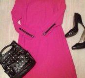 Красное платье mango
