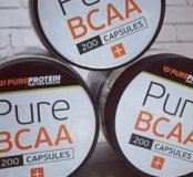 BCAA 200 капсул Pureprotein БЦА