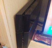 PlayStation 4 2 джойсика камера 20 игр