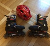 Ролики и шлем 34-36