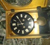 Часы настенные янтарь антиквариат