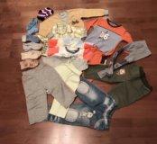 Детские вещи пакетом (17 вещей)