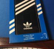 Adidas флип-кейс чехол iPhone 6/6s