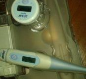 Детский  электронный градусник-соска  + электронны