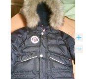 Куртка пуховик Reima. Раз. 92+ 6. Как новая