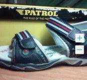 Новые сандали босоножки Patrol. Р. 32