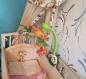 Детская кроватка (комплект)