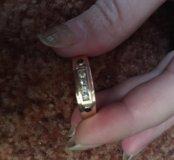 Мужской кольцо с бриллиантами