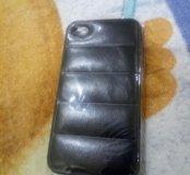 Задняя крышка айфон 4s черный