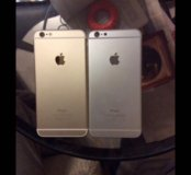 iPhone 6 Plus 128gb gold-silver