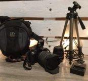 canon  450 d полный комплект с 2 объективами