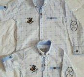 Одинаковые рубашка