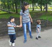 Одинаковые футболки Family look