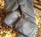 Горнолыжные теплые штаны . Состояние новых.44-46р