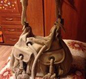 Модная сумка с кисточками