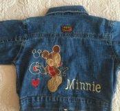 Курточка джинс для девочки
