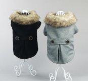 Тёплые и модные наряды для собачки.