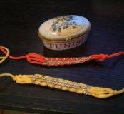 Шкатулка с налобными повязками с пустыни Сахара