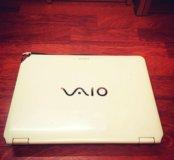 Sony vaio PCG-3G7P Ноутбук б/у (белый)