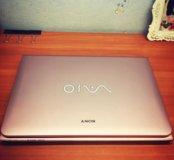 Ноутбук Sony vaio E series Pink color E14A15